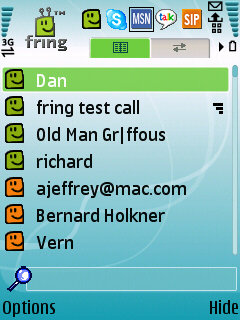 Fring Mobile Instant Messaging